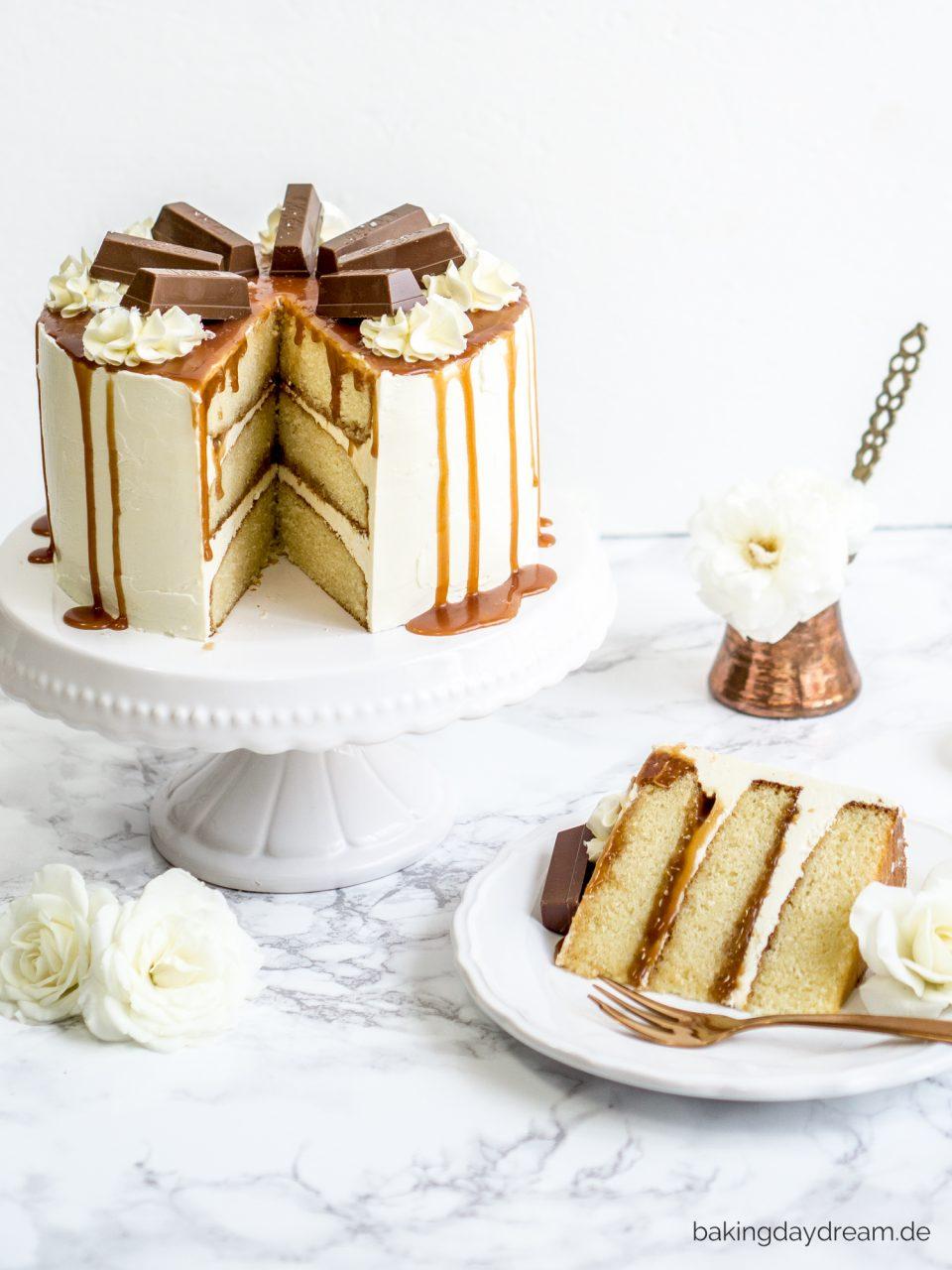 Torte mit Karamell