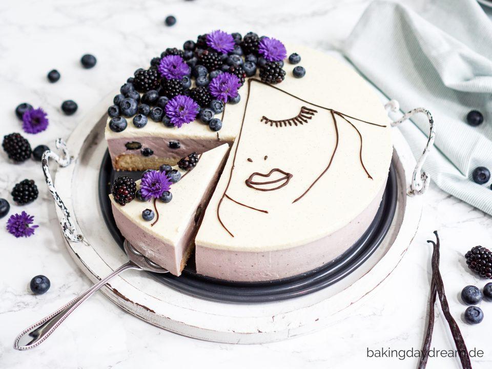 Brombeer-Heidelbeer-Kuchen