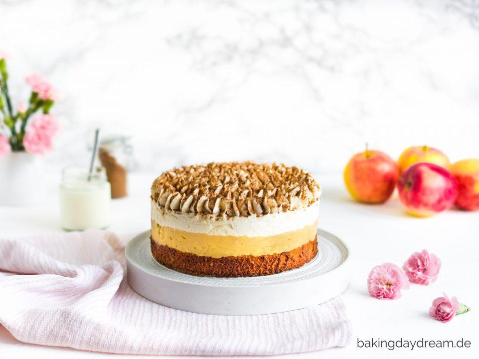 Bratapfel Zimt Vanille Torte